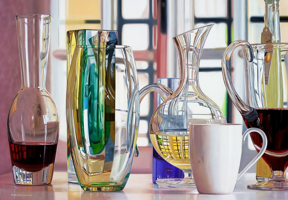 Roberto Bernardi |Hyperrealist Oil Paintings